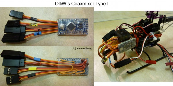 coax mixer arduino type1 olliw
