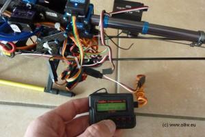 ga250 cpgyro testheli with progbox olliw