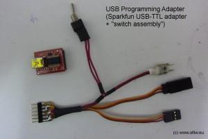 ga250 programming adapter
