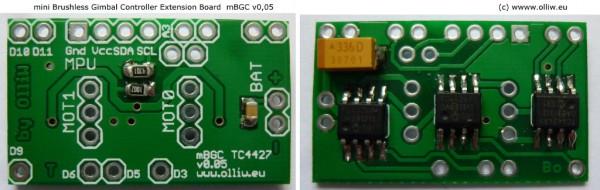 mini brushless gimbal controller mbgc v005 olliw