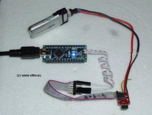 owsilprog arduino-nano setup olliw
