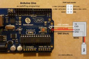 owsilprog arduino uno scheme olliw
