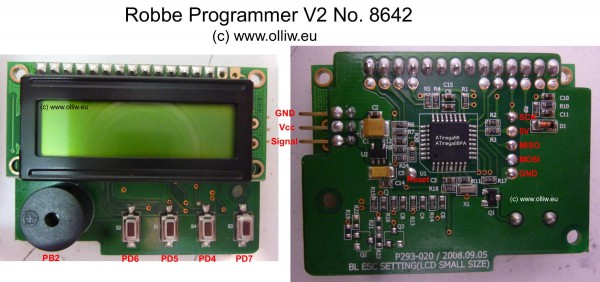 robbe programmer v2 no8642 olliw