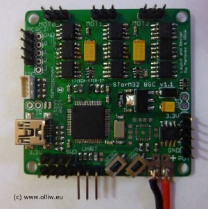 storm32 bgc v110 board top olliw