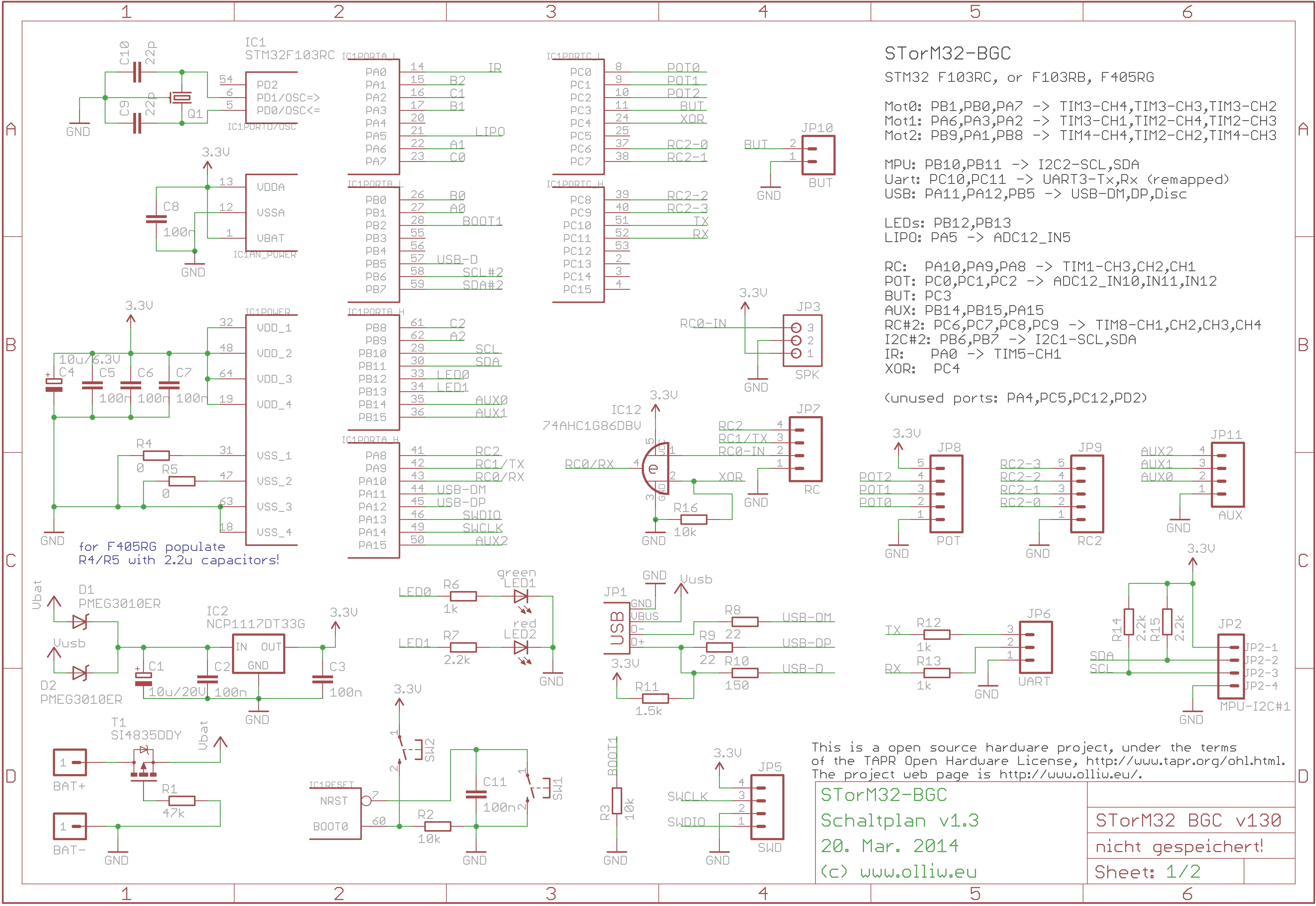 OlliW\'s Bastelseiten » STorM32 BGC: 3-Achsen STM32 Brushless Gimbal ...