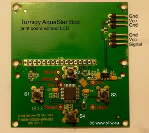 turnigy aquastar box board front olliw