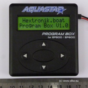 turnigy aquastar box olliw