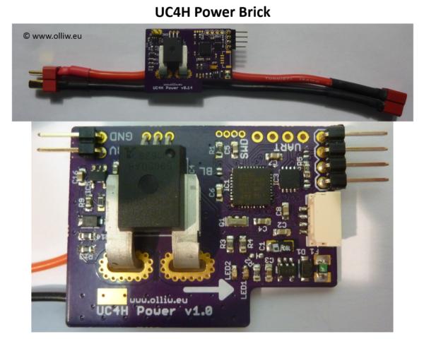 uc4h powerbrick board olliw