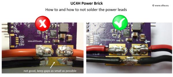uc4h powerbrick powerleads olliw