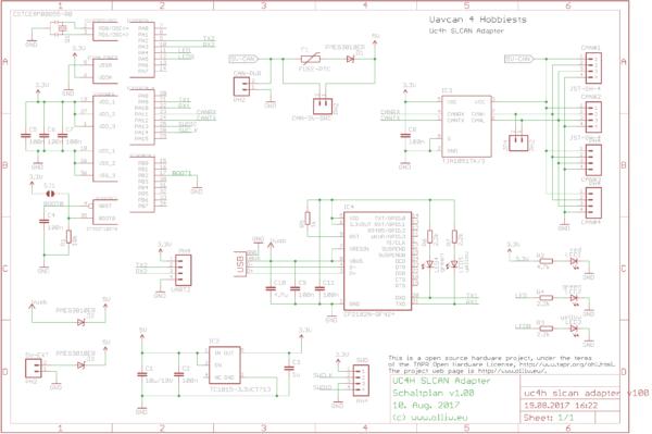 uc4h slcan adapter v100 scheme olliw